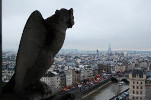 Vista de París desde Notredame